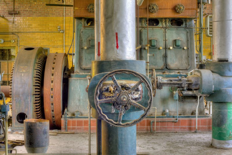 "Harlem Valley / Wingdale # 7146 - Building 34 - Powerplant  , 2012  photograph  32 1/4"" x 453/8"""