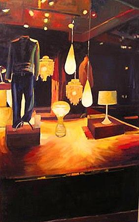 """Illumination   , 2006   oil on canvas   64"""" x 40  1/4  """""""