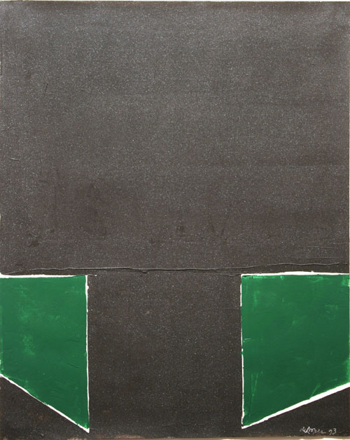 "Untitled,      1993   acrylic on paper   25   1/2  "" x 21   1/2  """