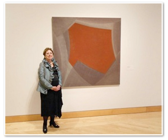 "Carolyn Miles and Willem de Looper's 1999 ""Untitled"" abstraction,  The Kemper Museum of Contemporary Art, Kansas City"