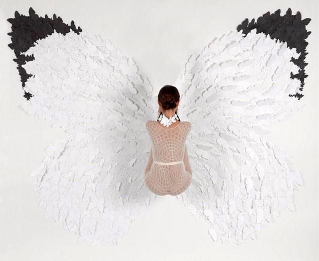 """White Glider , 2012  c-print 5/5  47 3/4"""" x 60 """""""