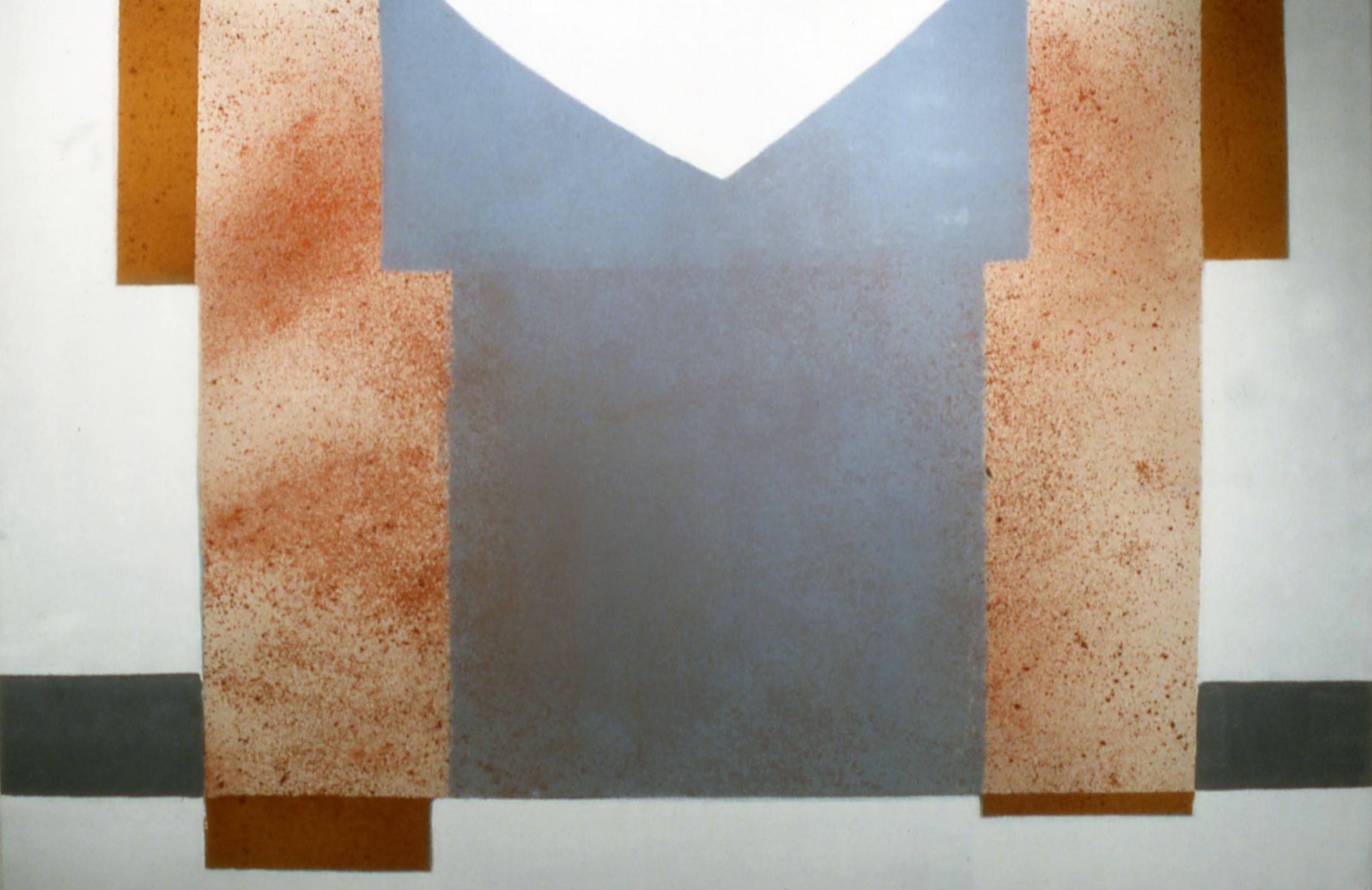 """Nikko    ,""  1994  acrylic on canvas  72"" x 80"""