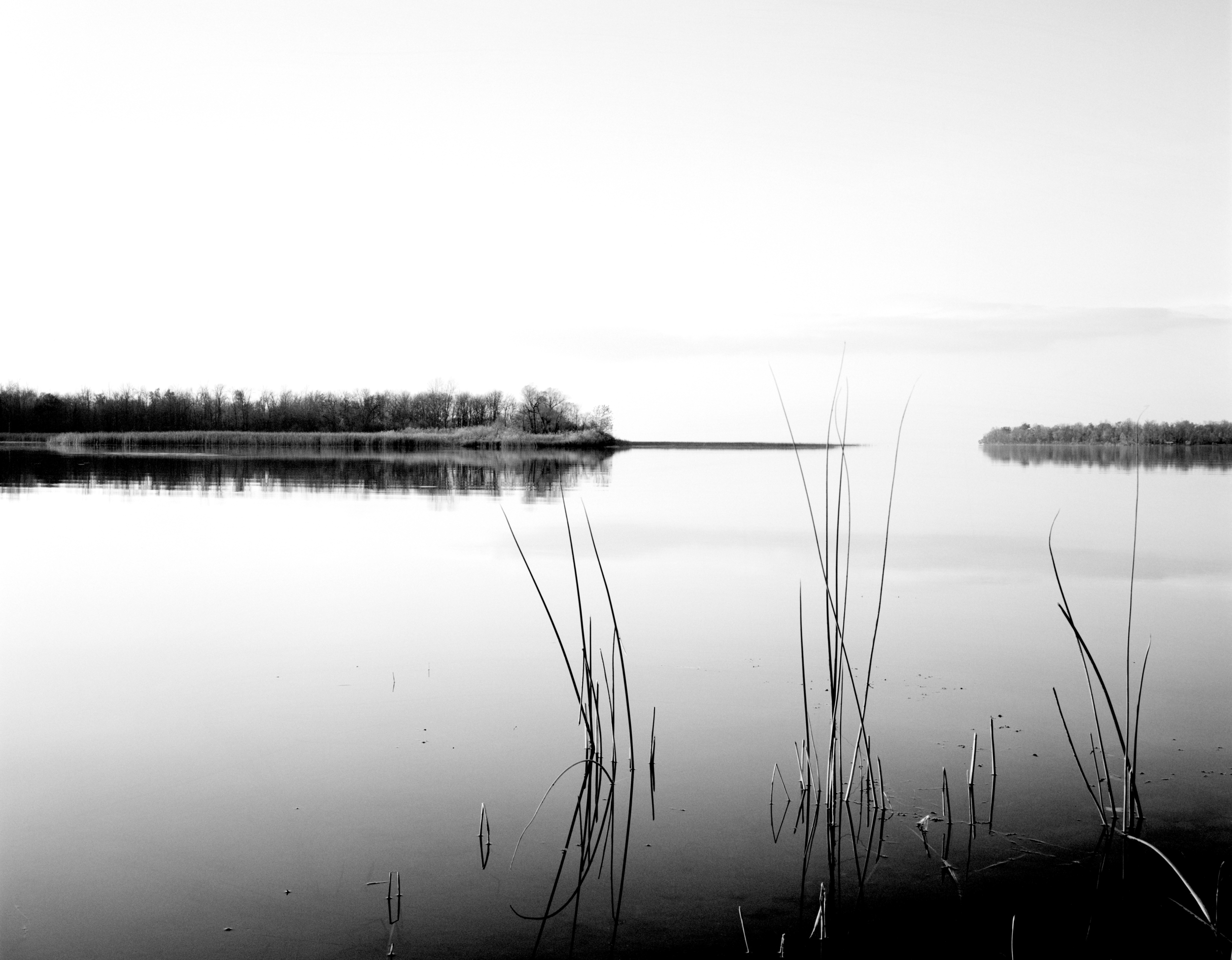"""Mille Lacs  , 1999  black and white photography  25 1/8"""" x 29 1/8"""""""