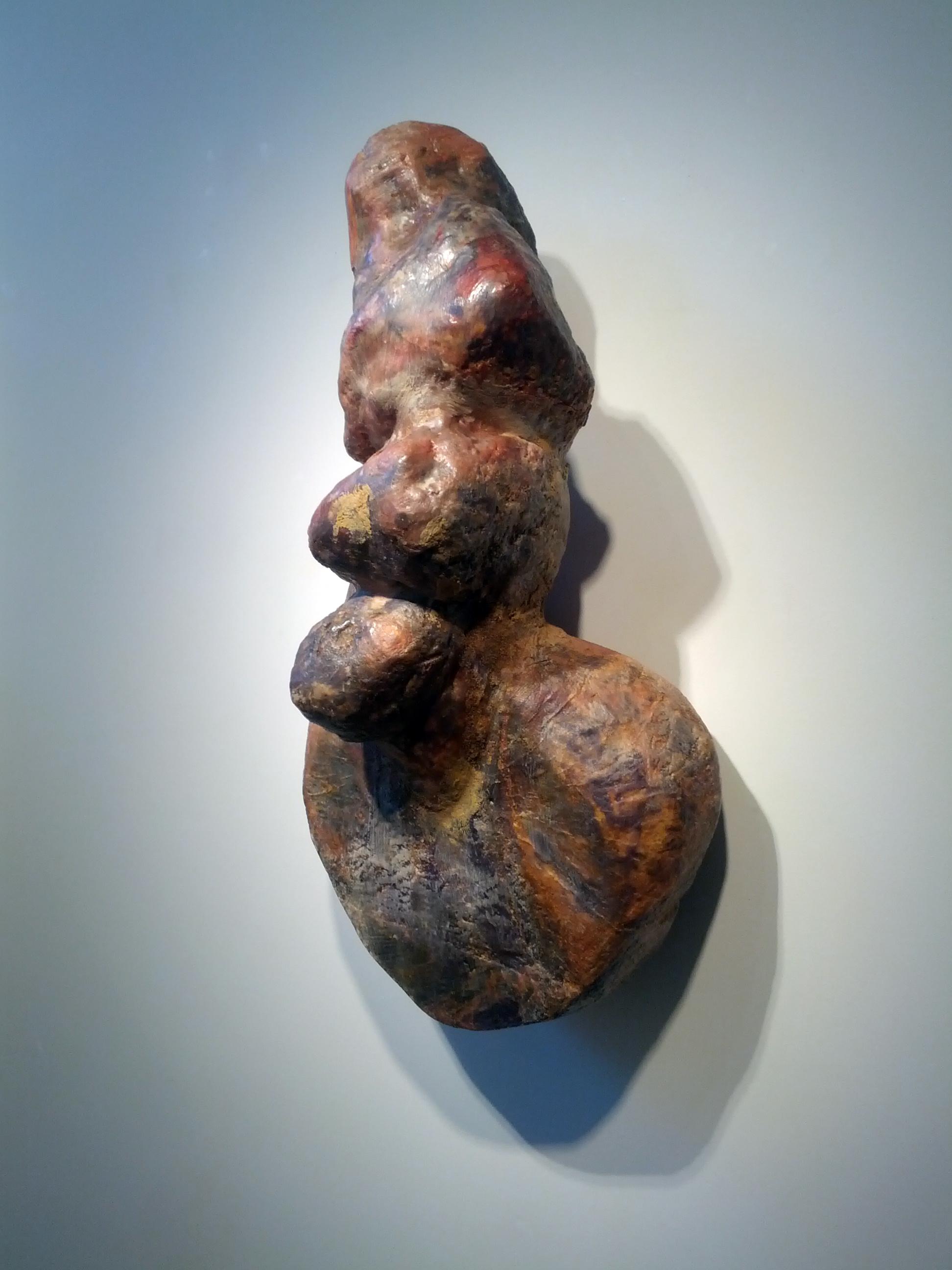 """Jane Schneider, """"Venus,"""" 1989  wood, wax, epoxy, resin, fiberglass  30"""" x 14"""" x 12"""""""