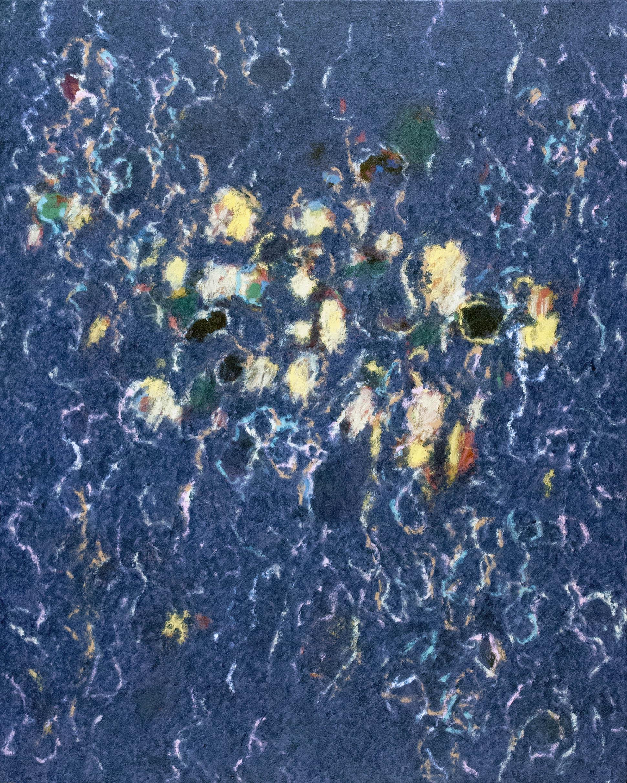 "Fredrick Nelson, ""Broken Shadows,"" 2014  acrylic on canvas  42"" x 33 3/4"""