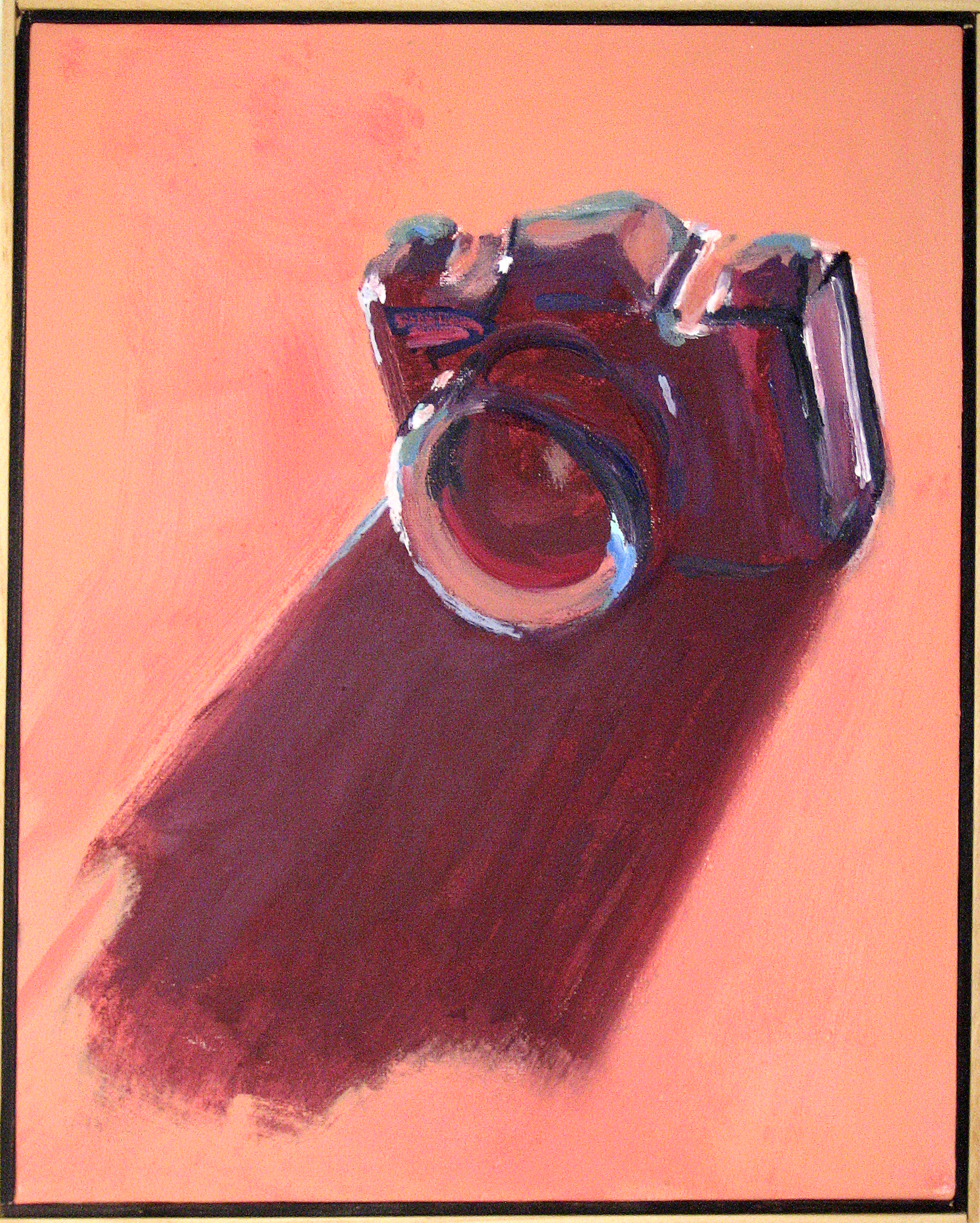 "Peter Charlap    (BIO)  ,    After Image  , 2004, oil on canvas, 21"" x 17"""