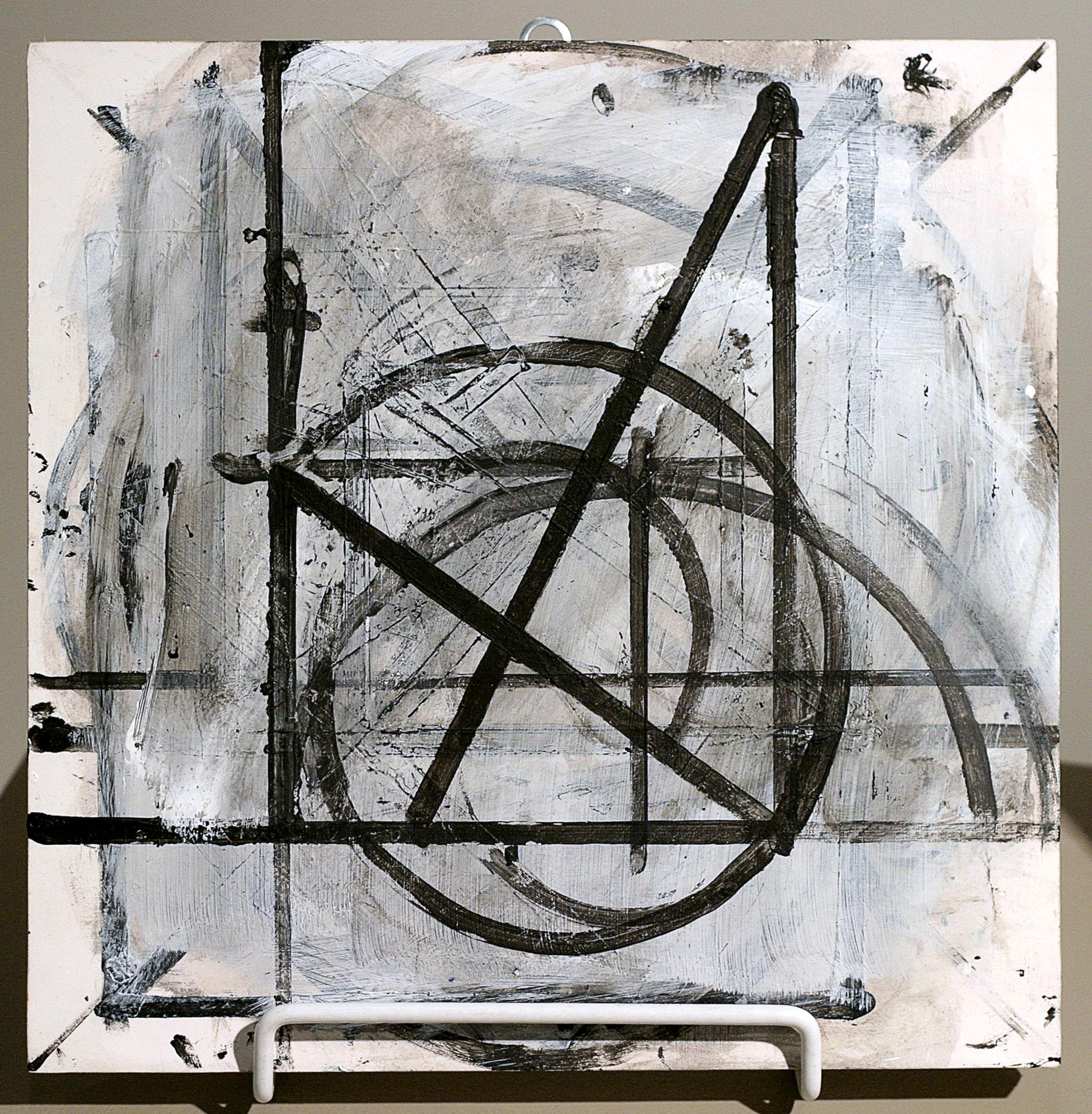 """Untitled 10  , 1997, acrylic on wood, 10"""" x 10"""""""