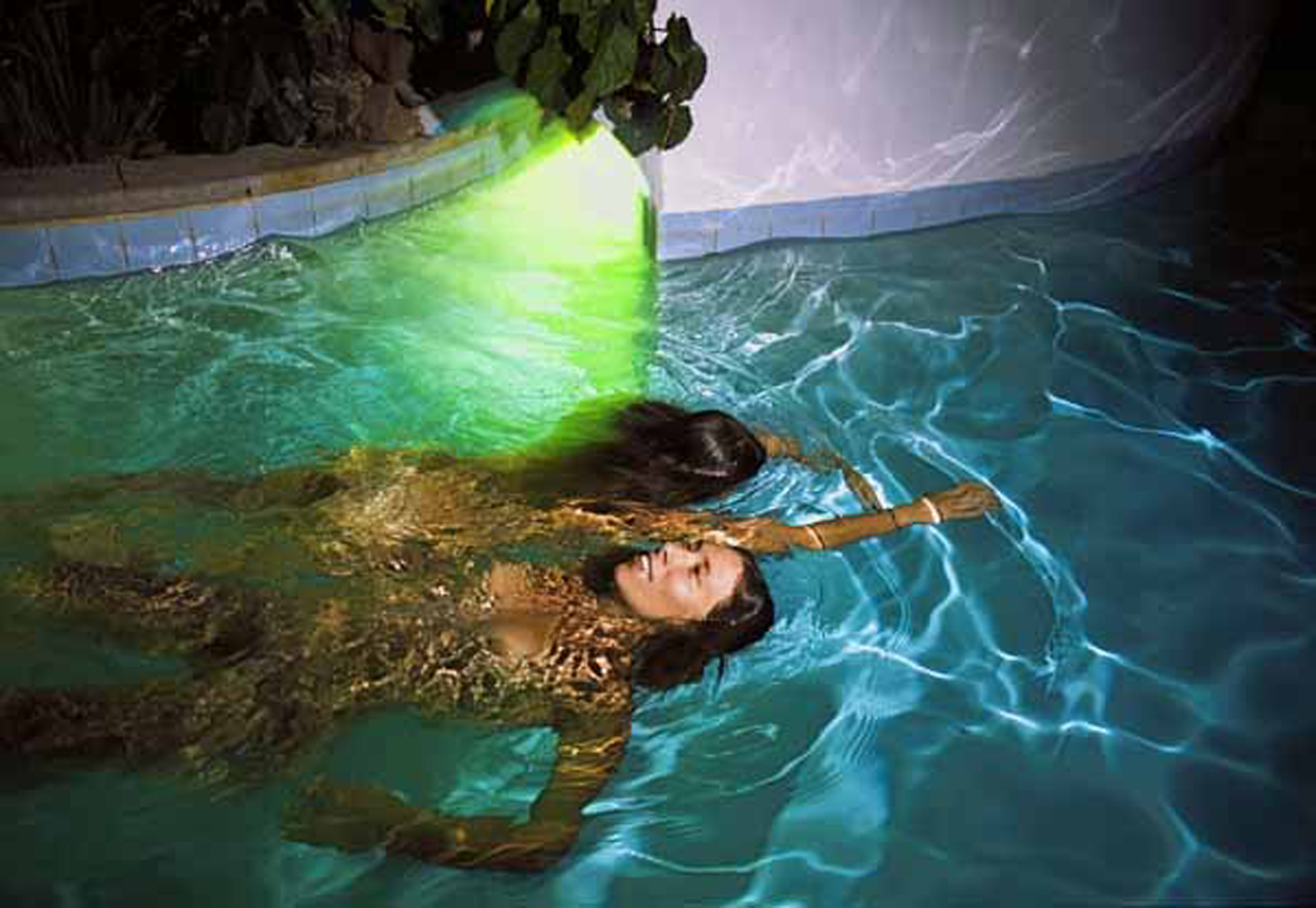 "Avery Danziger    (BIO) ,   Skin Deep  , 2005, color photography 1/10, 41"" x 61"""