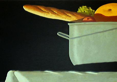 """Julio Larraz, """"Detail"""", 1993 silkscreen, 2/35 29 1/3"""" x 41"""""""