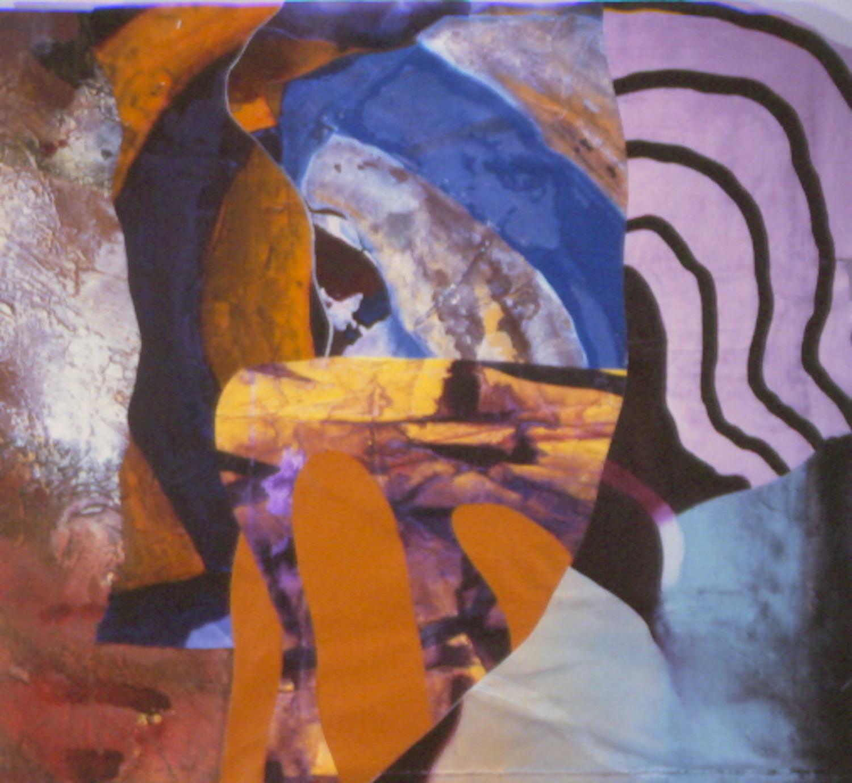 "Kirk Pedersen ""Dior,"" 2000 acrylic on canvas 34 3/8"" x 35 5/8"""