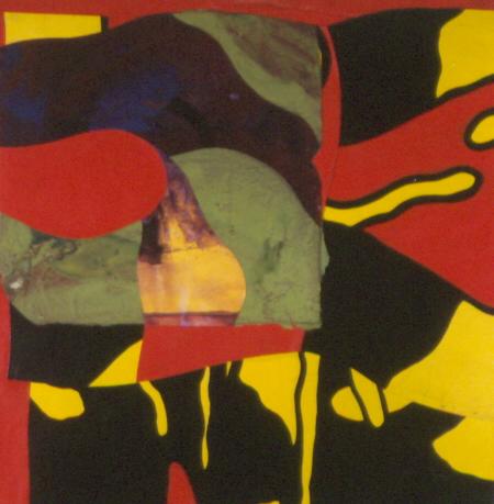 "Kirk Pedersen ""Bebe,"" 2000 acrylic on canvas 30 1/2"" x 30"""