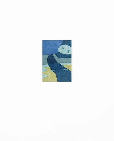 """SUZANNE CAPORAEL """"Silo Ridge (path), """" 2016 ed 21/21 relief 19 1/16"""" x 15"""""""