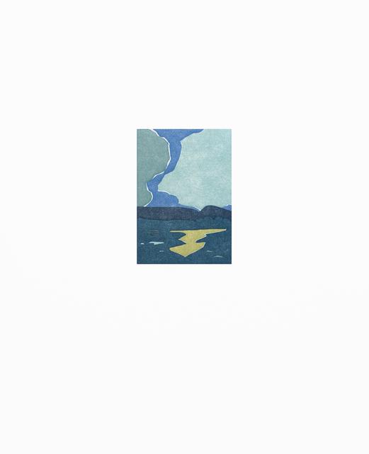 """SUZANNE CAPORAEL """"Silo Ridge (trap),"""" 2016 ed 21/21 relief 19 1/16"""" x 15"""""""