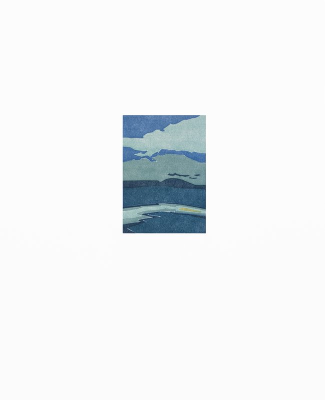 "SUZANNE CAPORAEL ""Silo Ridge (hazard),"" 2016 ed 21/21 relief 19 1/16"" x 15"