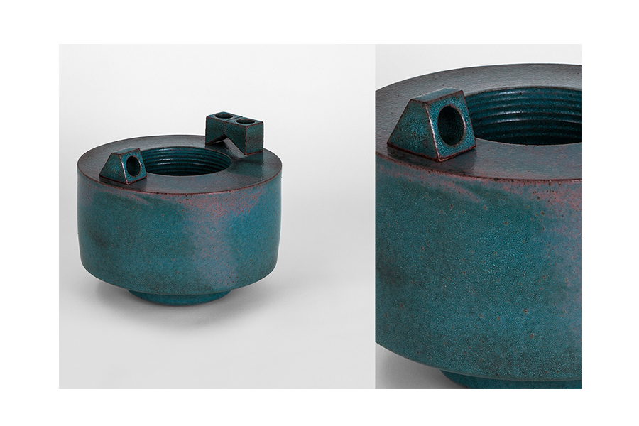 Double Walled Vessel w/ Parts