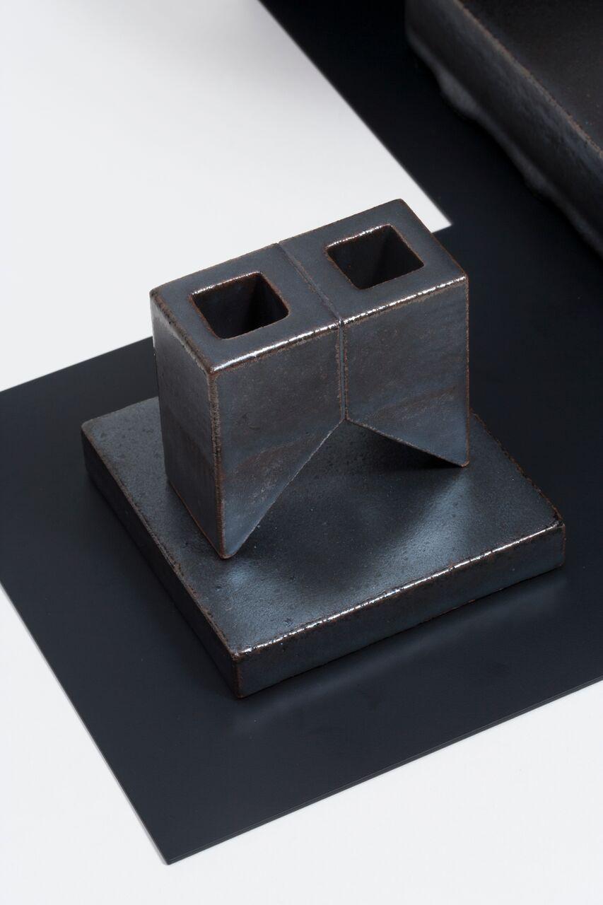 Studio Objects in Black (w Black Tray)