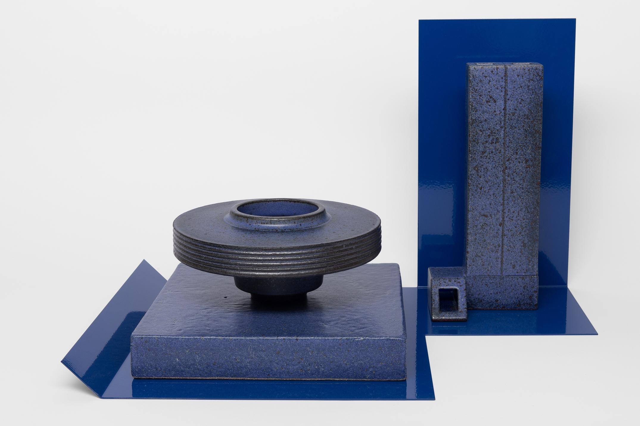 Studio Objects in Blue (w/blue tray)