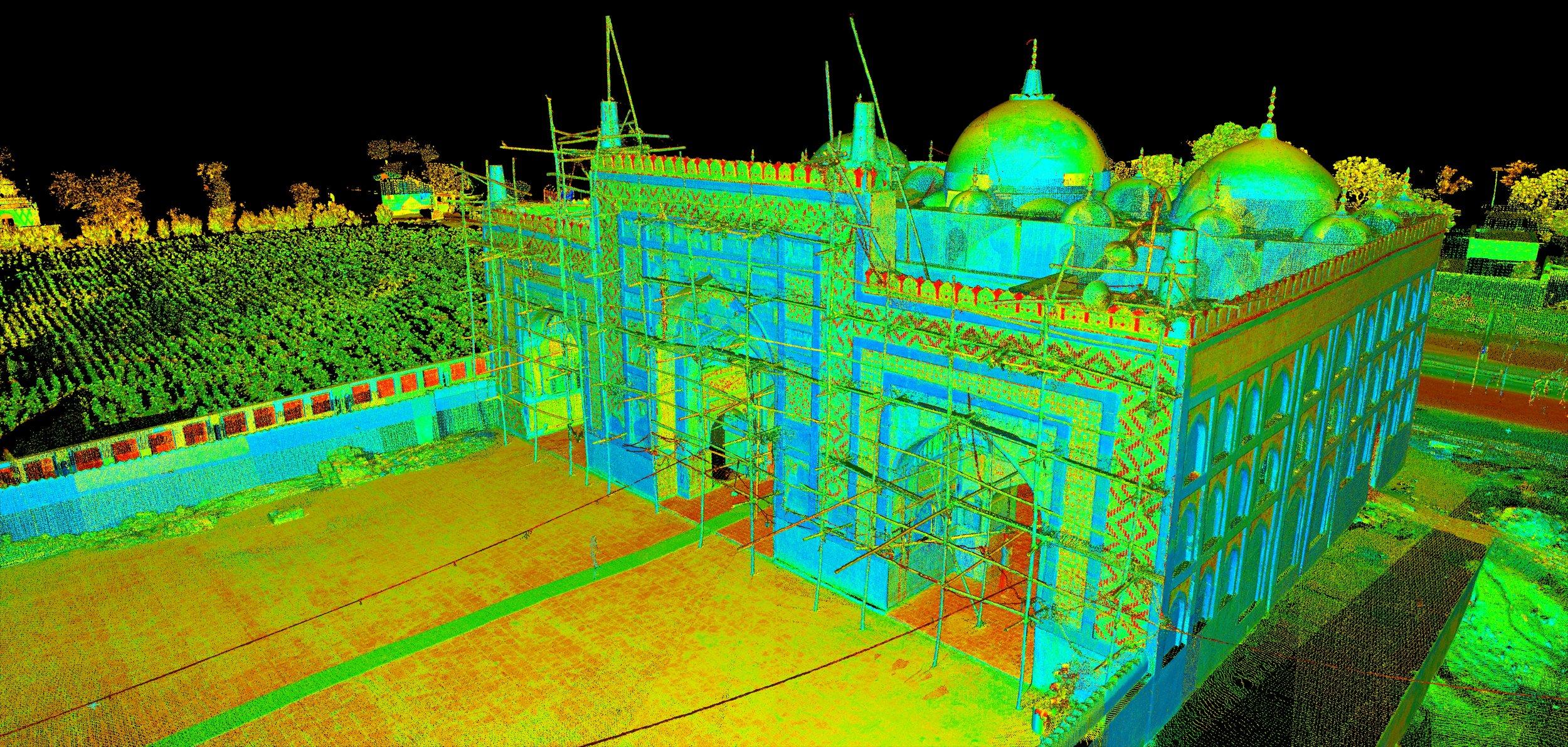 Digital Documentation of World Heritage Sites  The digital documentation and creation of educational assets of 10 world heritage sites