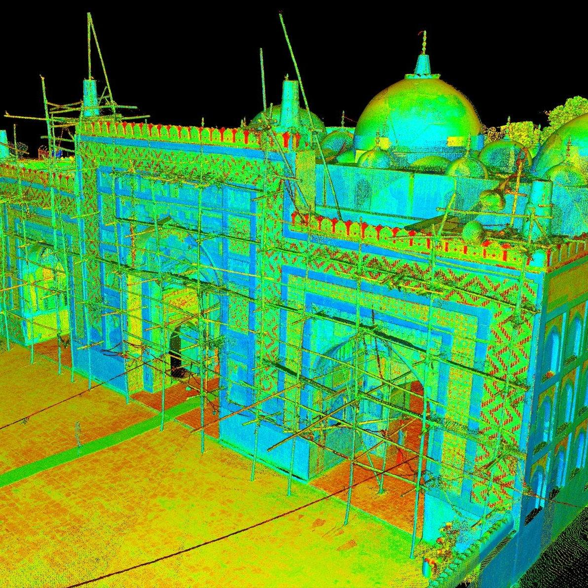 Digital Documentation of 10 World Heritage Sites