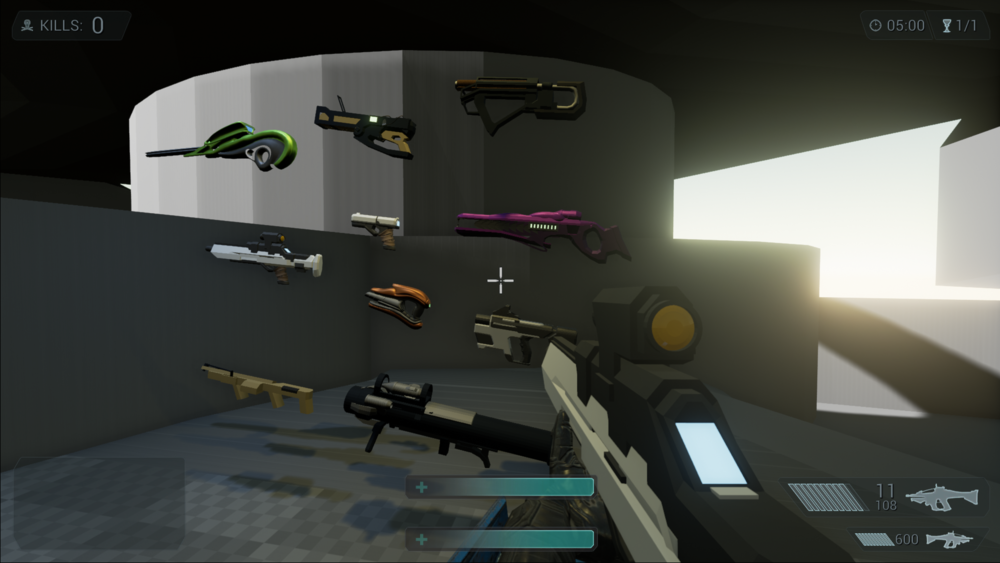 Blockout Weapons To Test With
