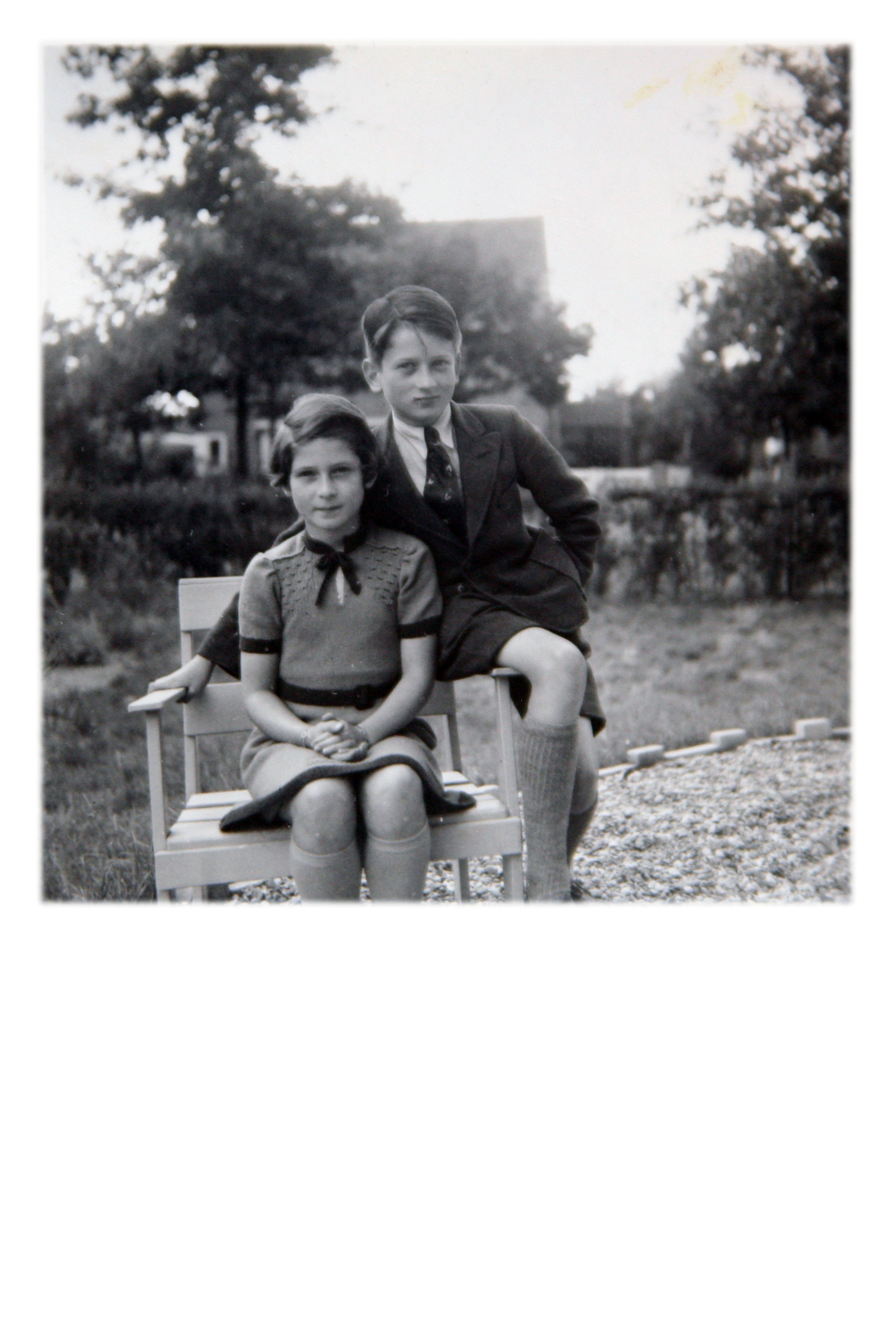 Irene and Werner, circa 1942.