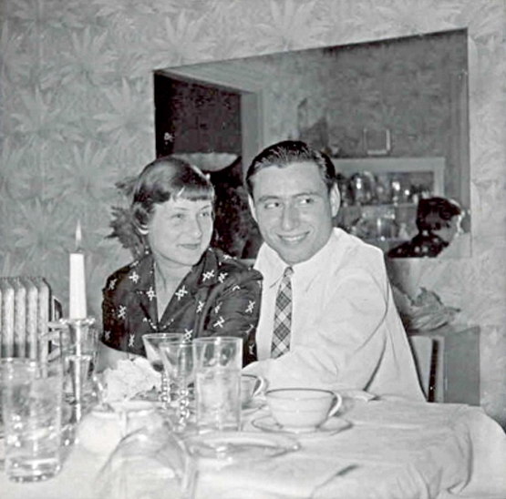 Newlywed Irene with her husband Charlie Butter.