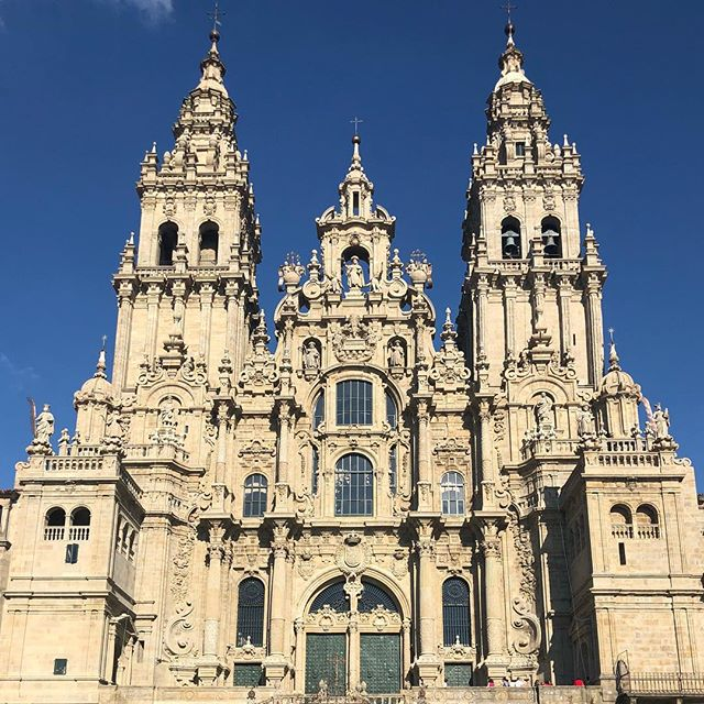 WE MADE IT TO SANTIAGO!!! Our Camino has officially ended. What an incredible journey it has been. My father has been and will always be one of the most positive forces I know, and the reason we accomplished our goal TWO DAYS EARLY! 9 days, 501 miles, 38,000ft in elevation climbed and 54hours on the bike. Some moments were HARD, some were a bit easier but every part of this has been beautiful, eye opening and a wonderful refuel of the soul. Positivity, enthusiasm, love and all the good energy in the world filling us up right now and we'll always do our best to share & spread it with everyone around us. Buen Camino Amigos!
