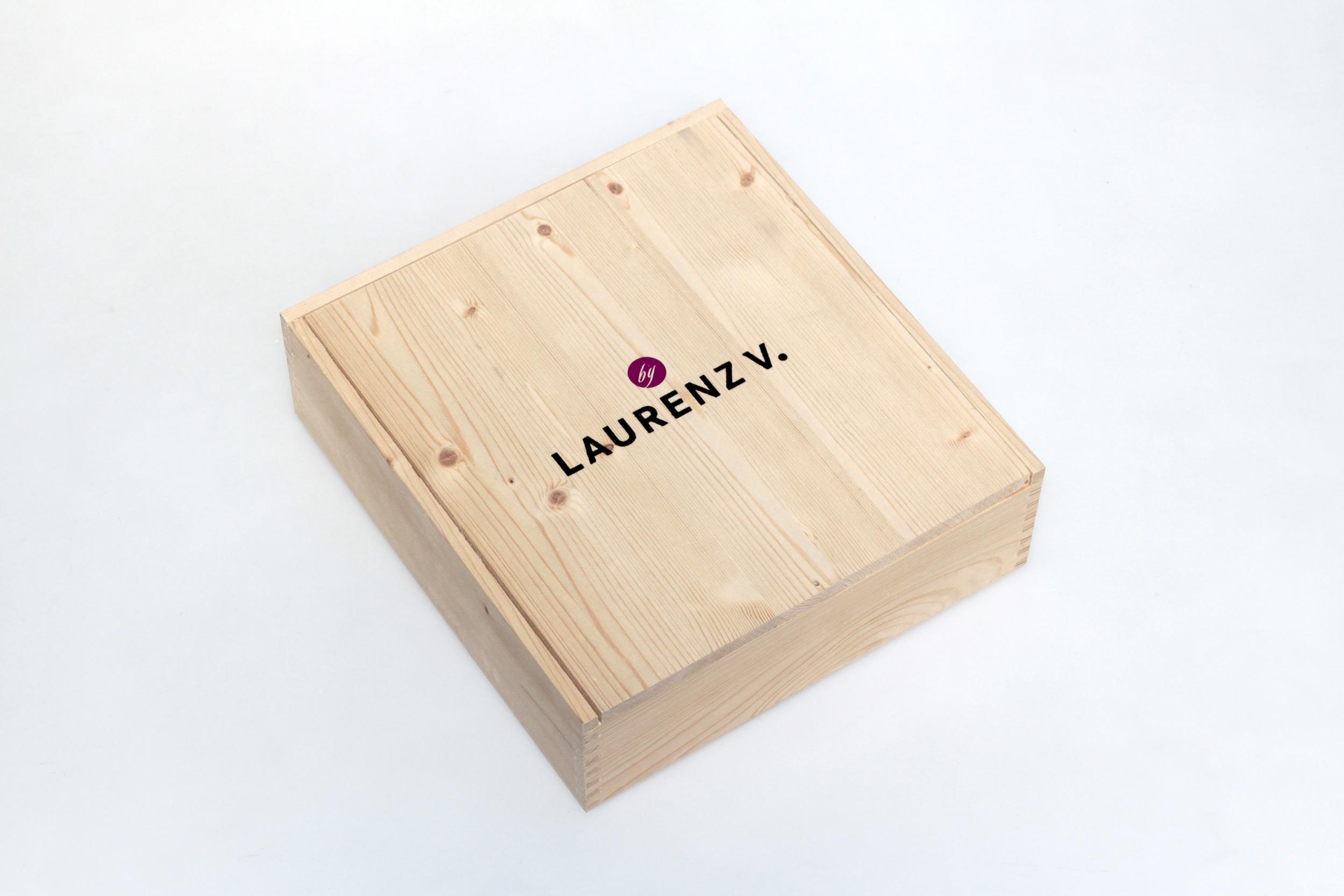 Weinverpackung mit Siebdruck