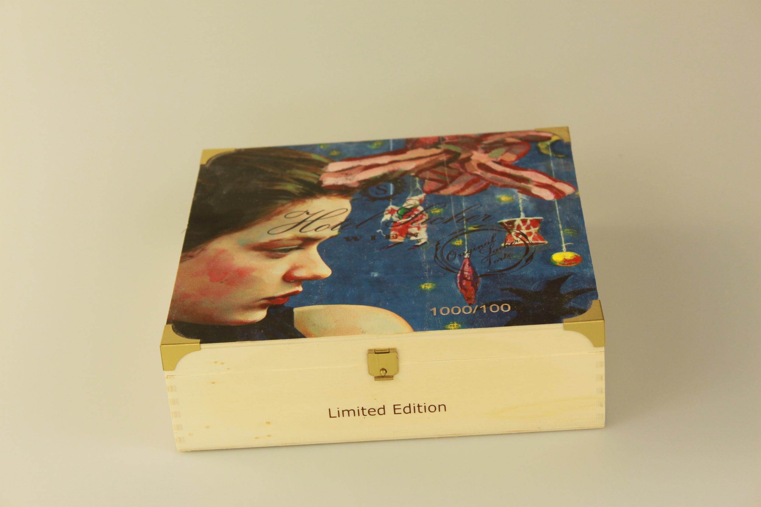Tortenbox mit Digitaldruck