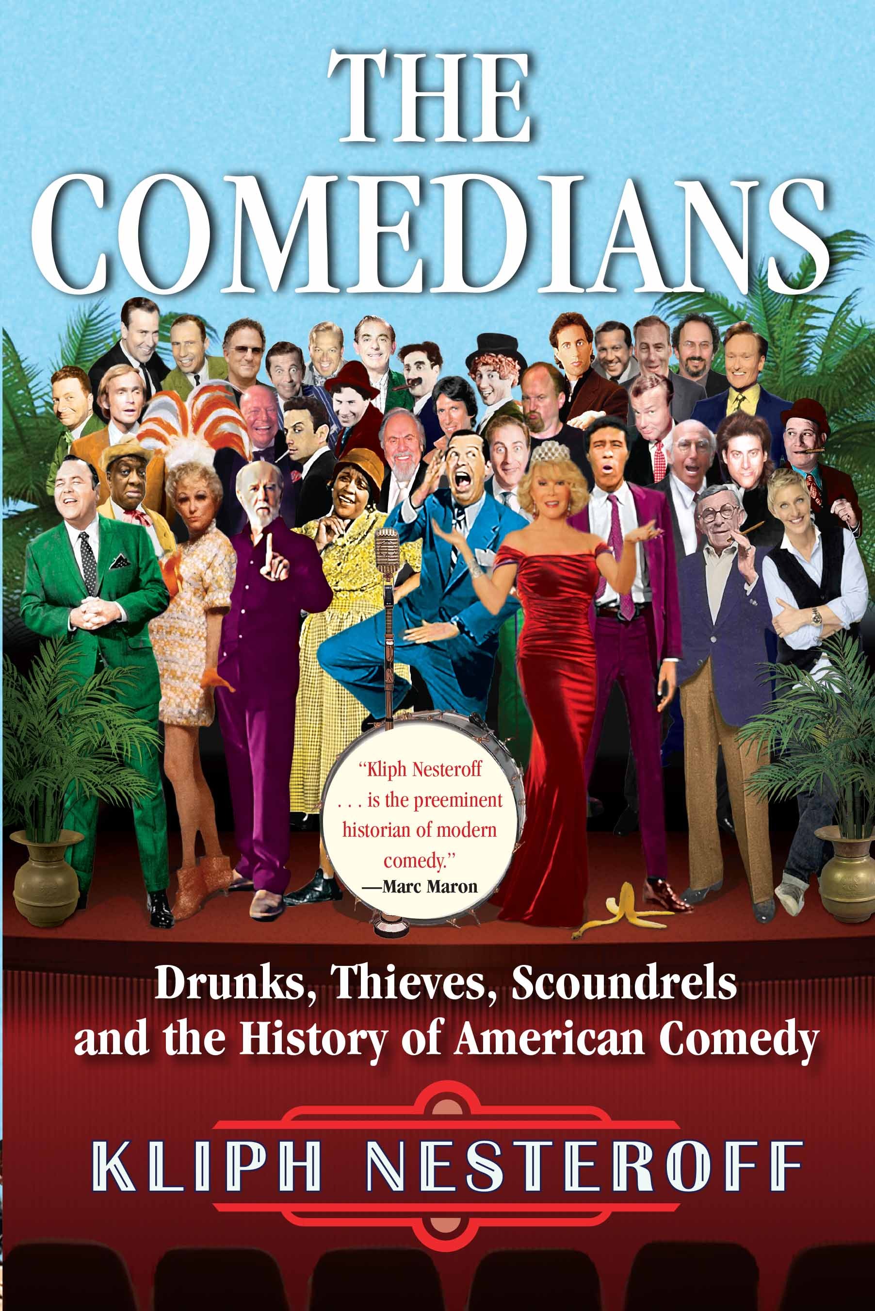 The Comedians, Kliph Nesteroff - I think you'd enjoy this book even if you don't identify as comedian.Mr. Nesteroff produces a salient story of the history of American comedy from the Vaudeville days to radio, through the early nightclubs (think the Copacabana), to Las Vegas and to today.He merges firsthand interviews with historical sources and comes out with a story that, I hope, gives you an informed perspective on comedy's roots.That all sounds terribly dry.But it's not.It's entertaining! [Which I never thought I'd say about a history book.]