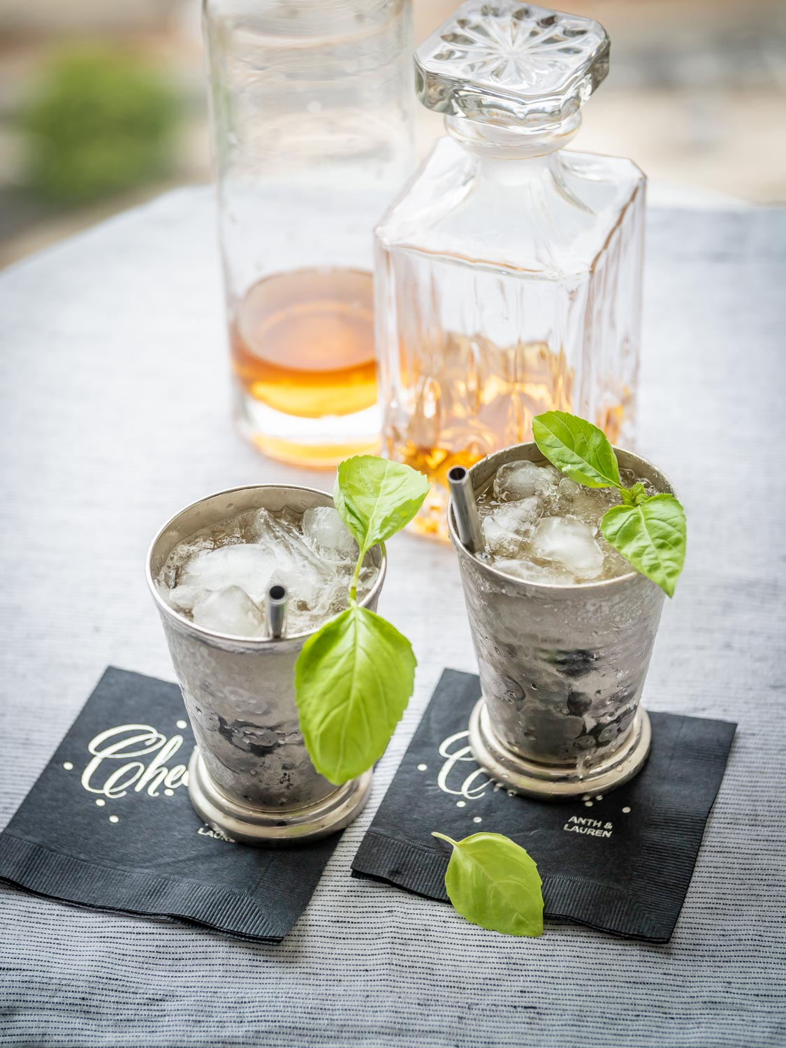 Yes, I realize those are basil leaves for a Basil Julep. But I loved this picture and needed something for this post.