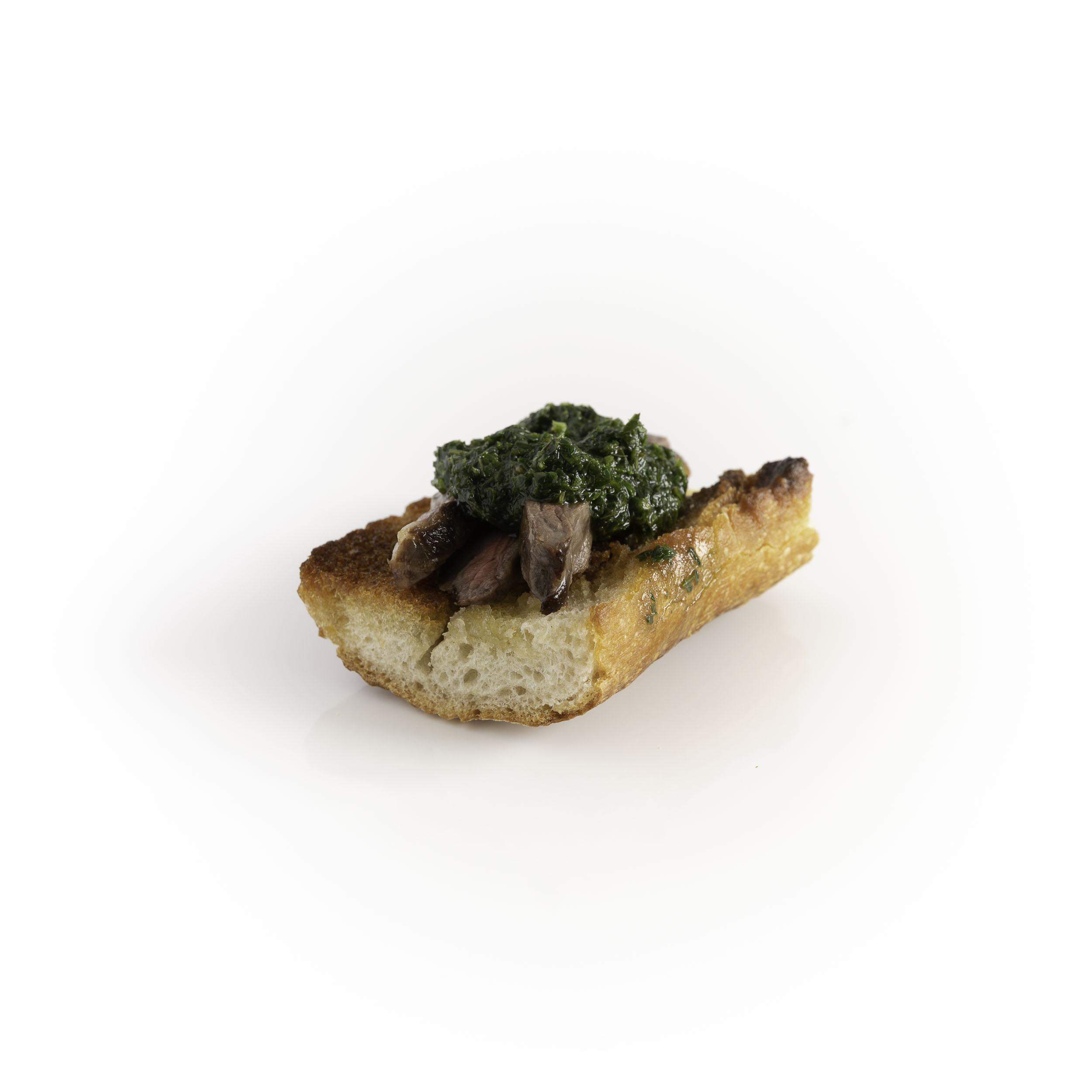Skirt Steak w/ Mint Chimichurri