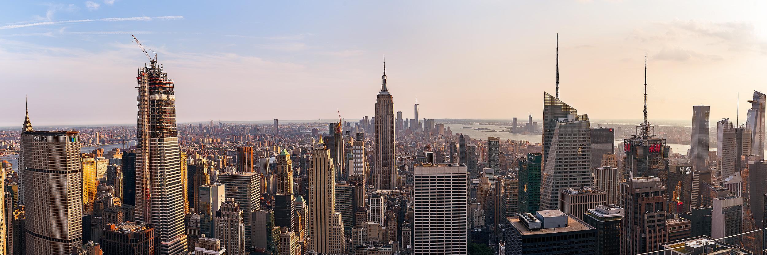 The NYC skyline is sooooo blah.