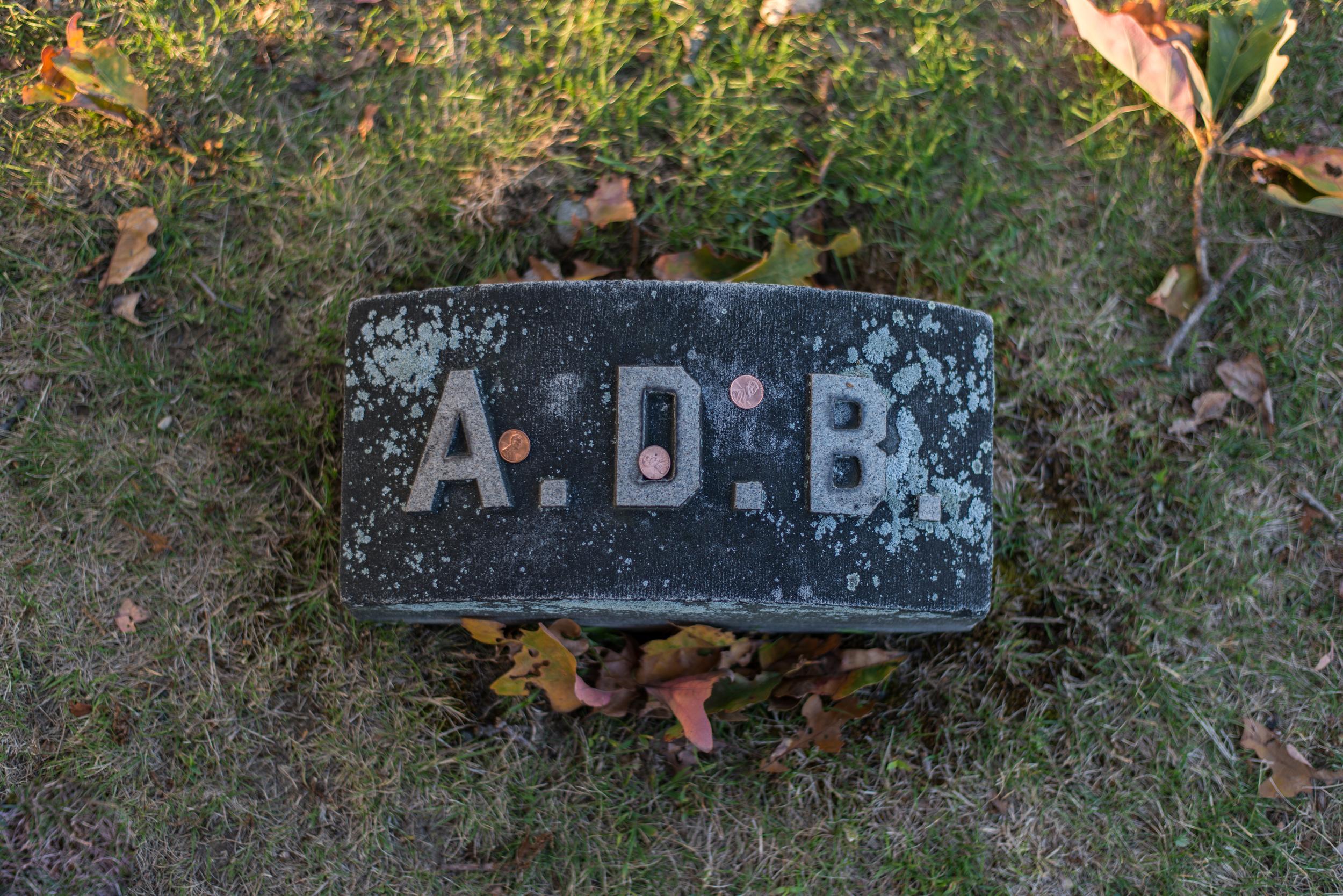 Abby   Borden Grave Marker (Second wife of Andrew Borden)