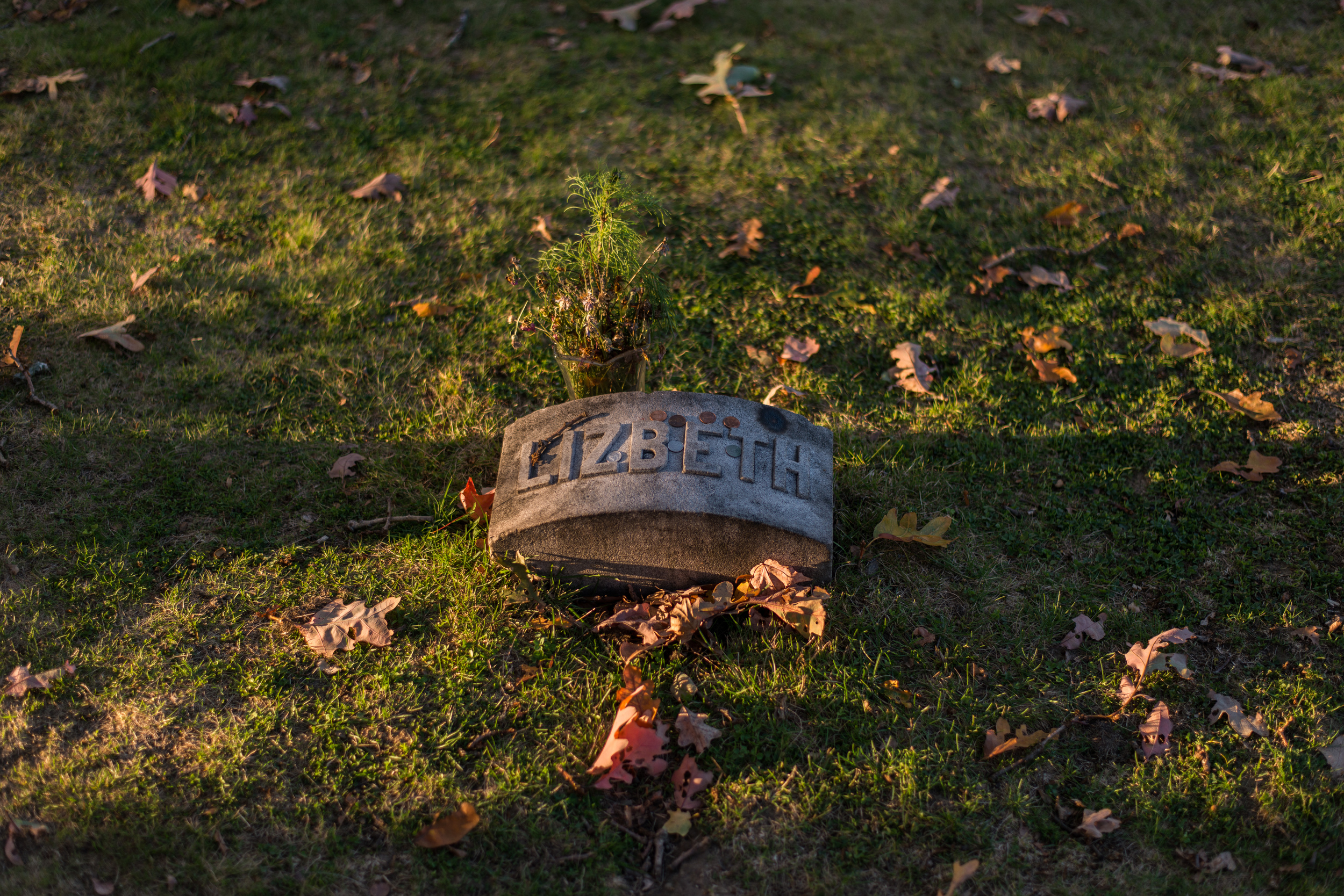 Lizzie   Borden Grave Marker (Changed her first name to Lizbeth after the trial)