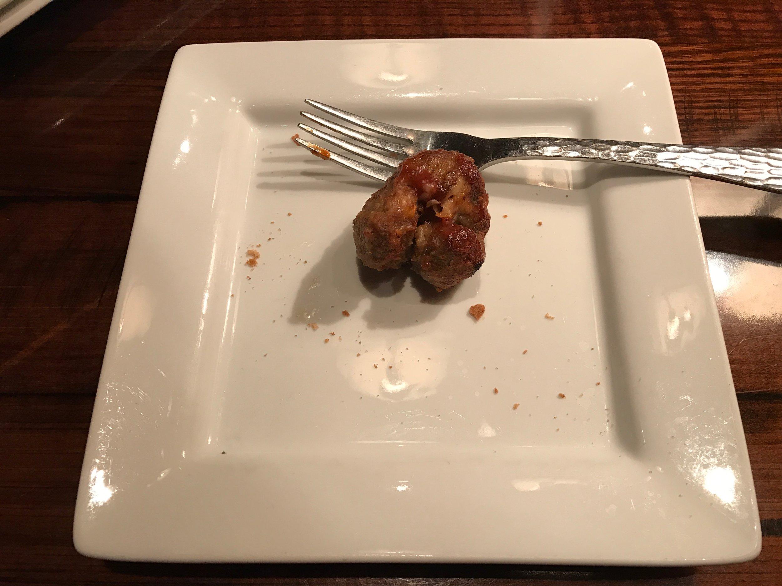 Bison Meatball