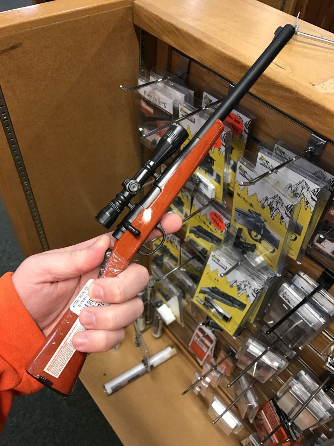 Rifle BBQ Lighter