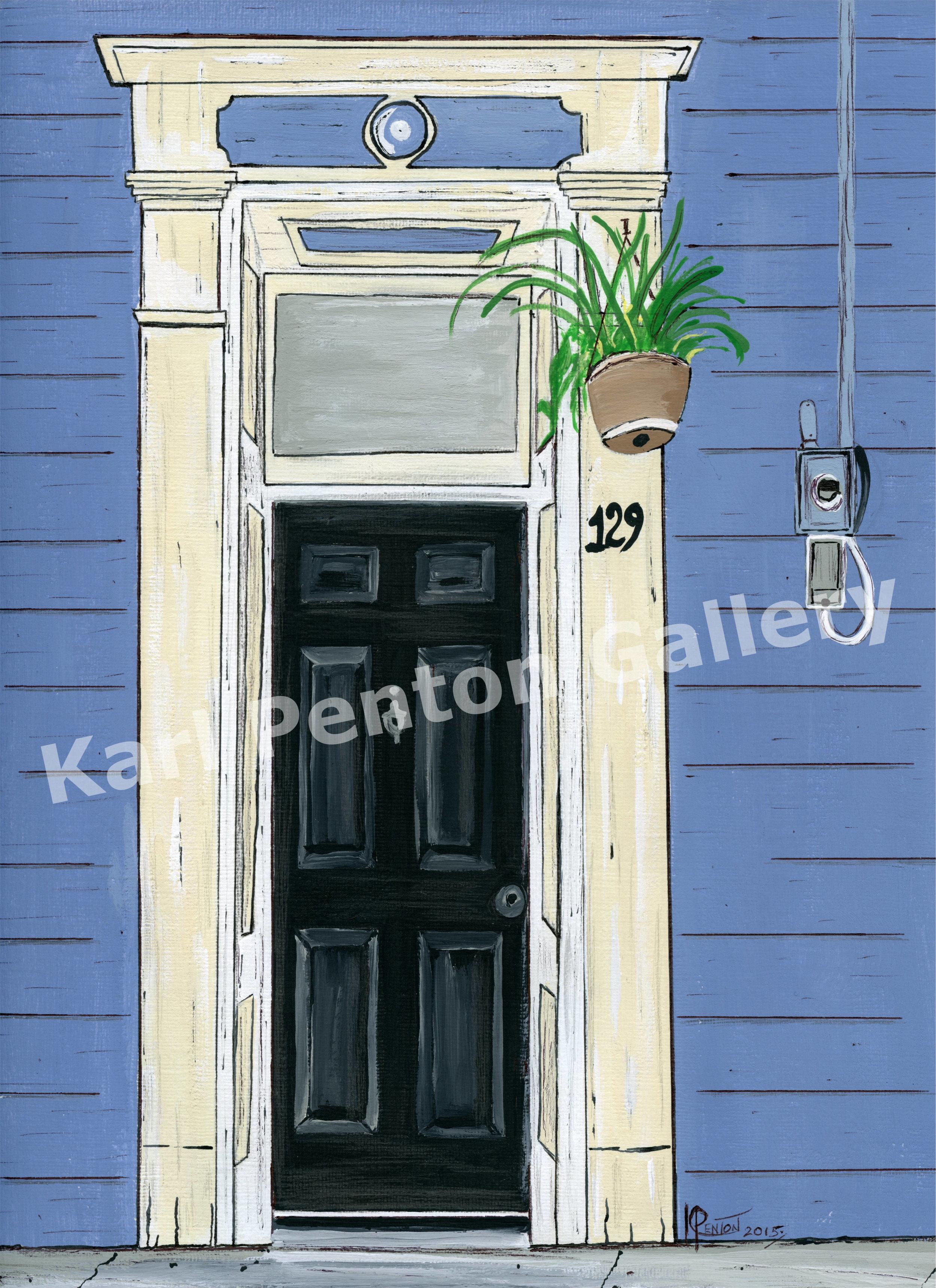Door 129 - From the