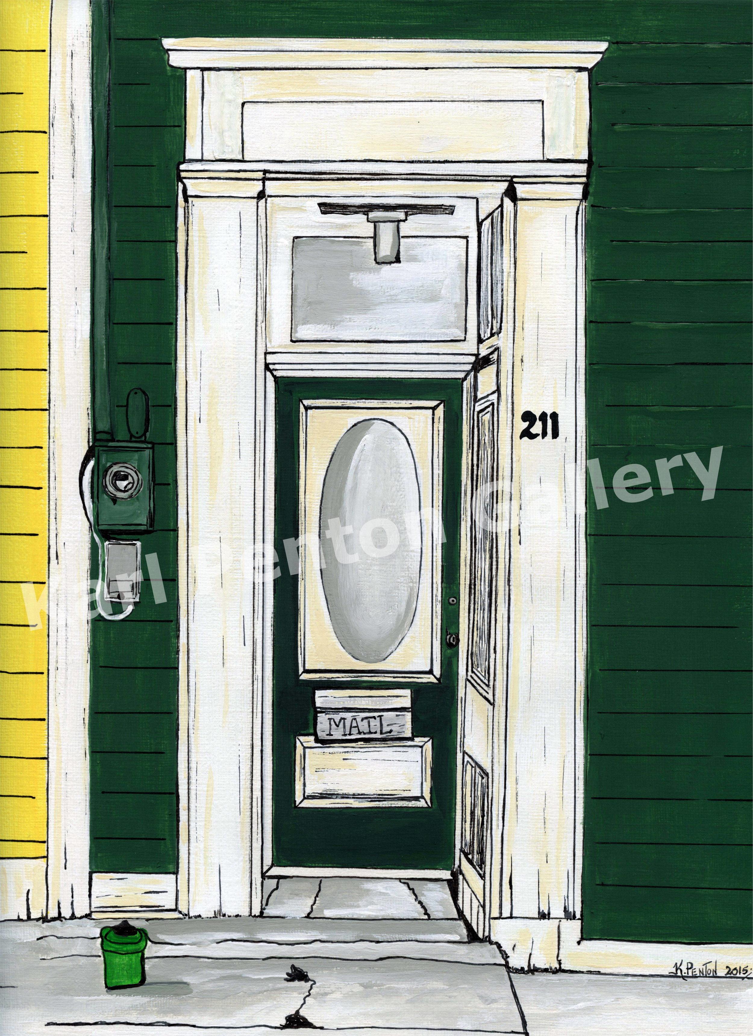 Door 211 - From the