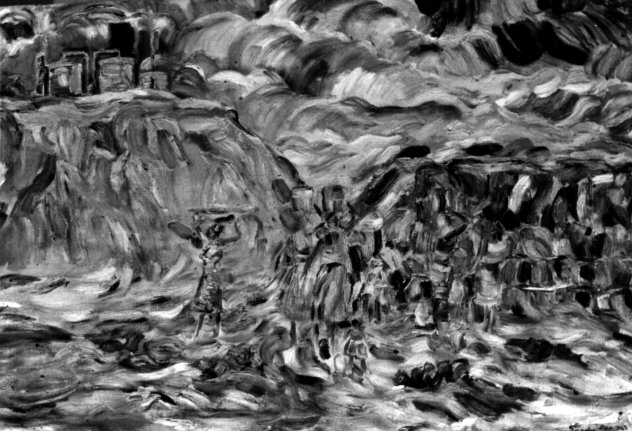 """""""At the Mine"""" by Kingsley Sambo (Image Credit: The Nartional Archives)"""