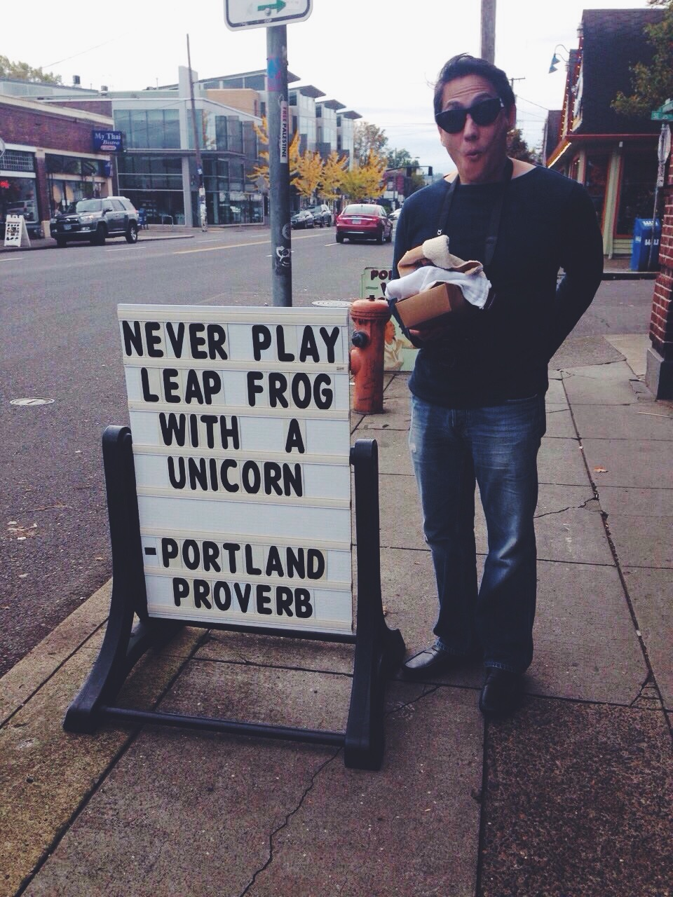 You stay weird PDX, this is why i love you.