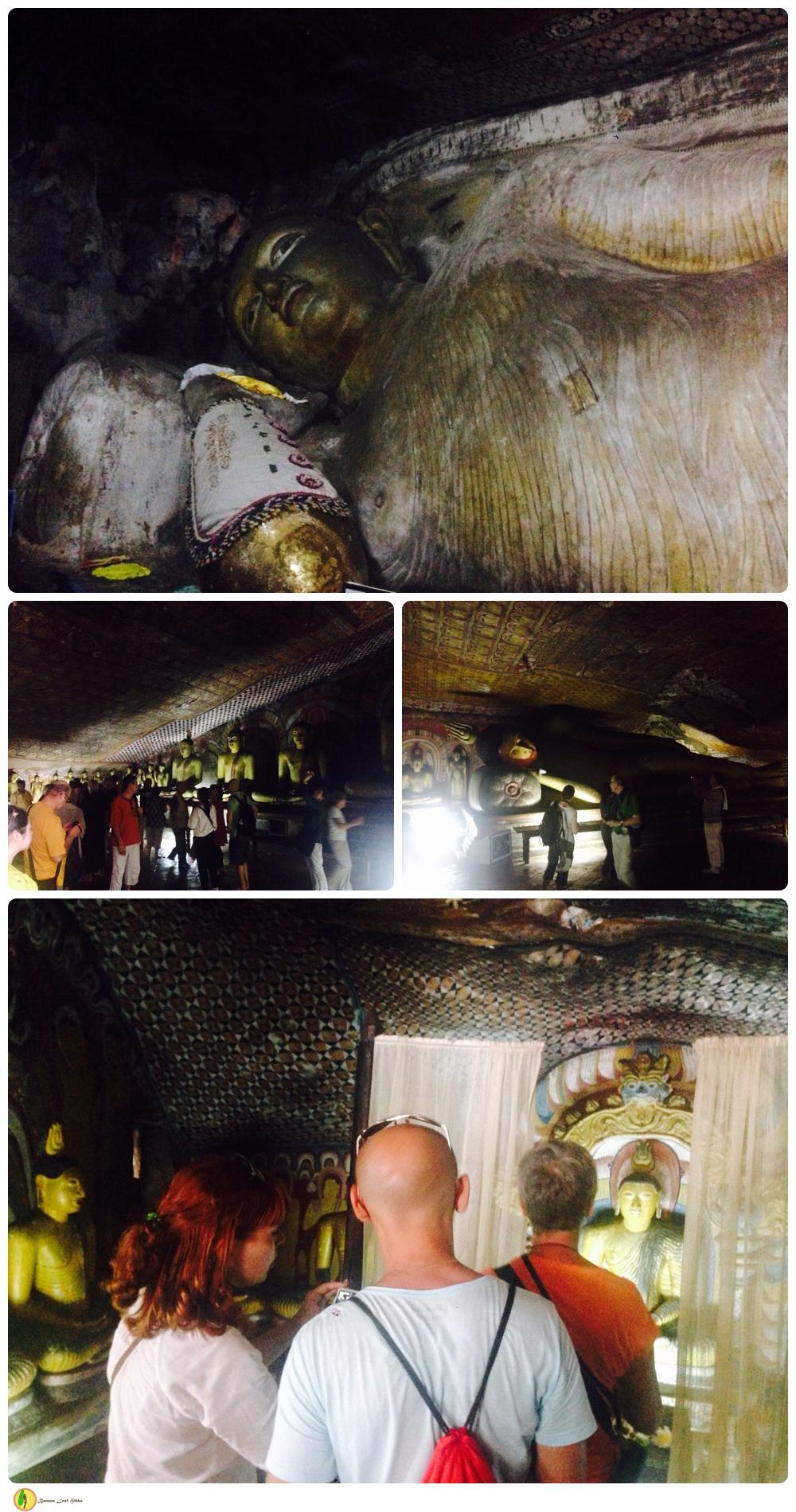 Dambulla cave temple Banana Leaf tours