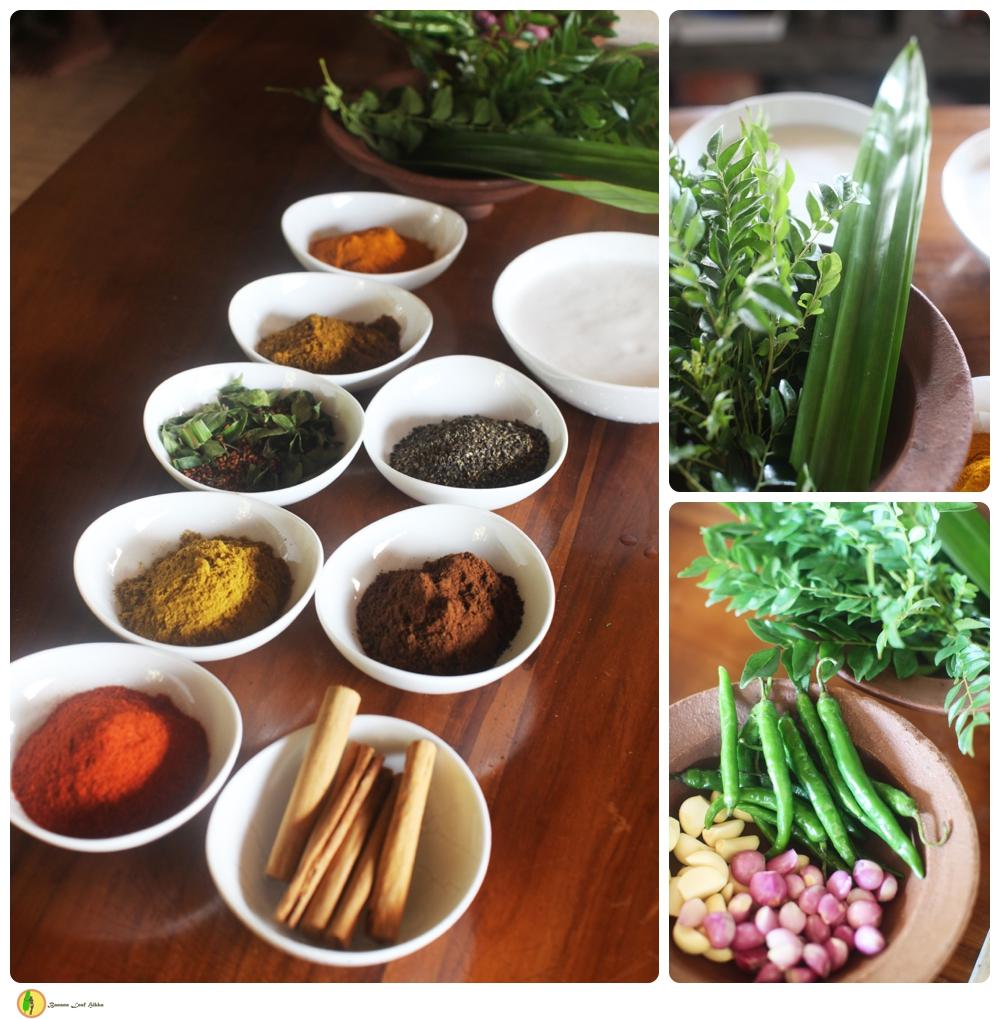 Sri Lankan cookery Mangrovia Hikkaduwa