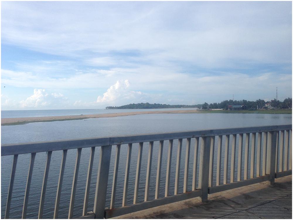 Arum Bay bridge