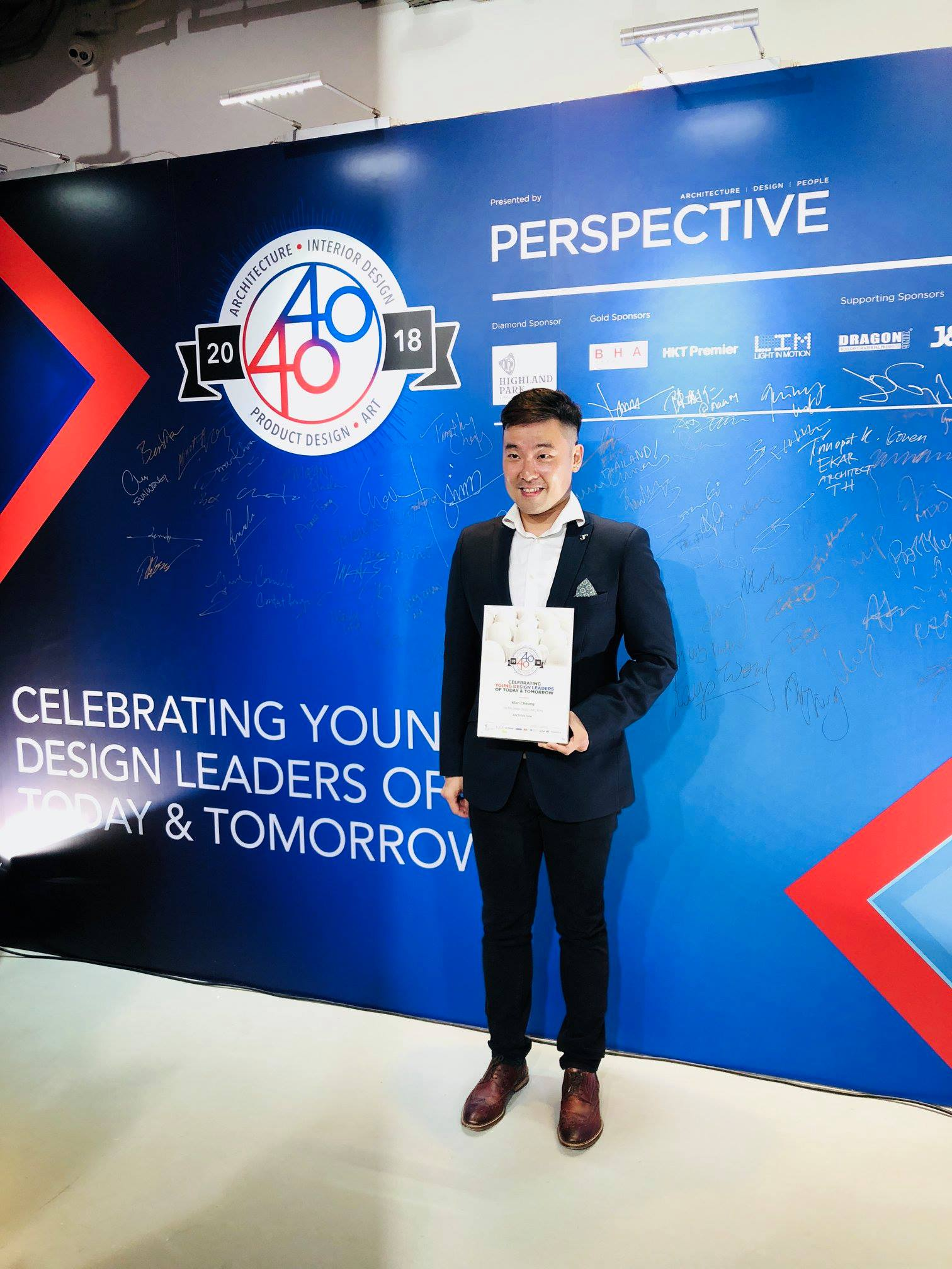 Our latest 40 under 40 awardee