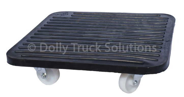 Dolly Truck with overlap rubber top