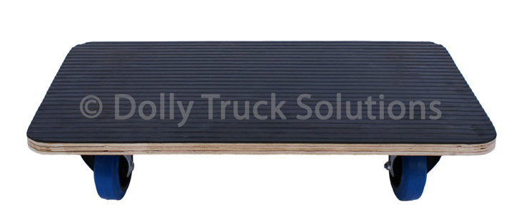 Dolly Truck with anti slip rubber top