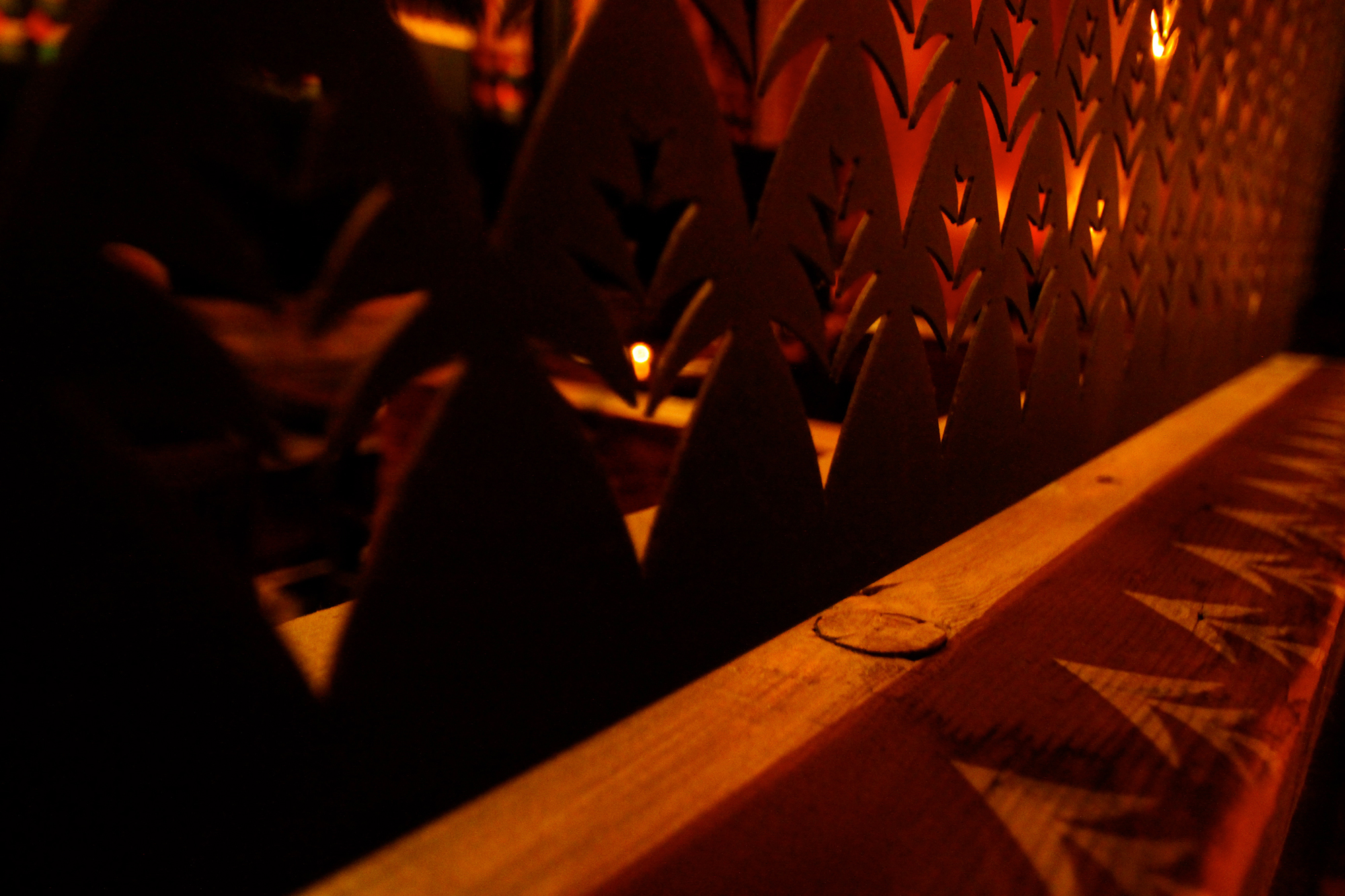 Detailed close up of Duende furniture