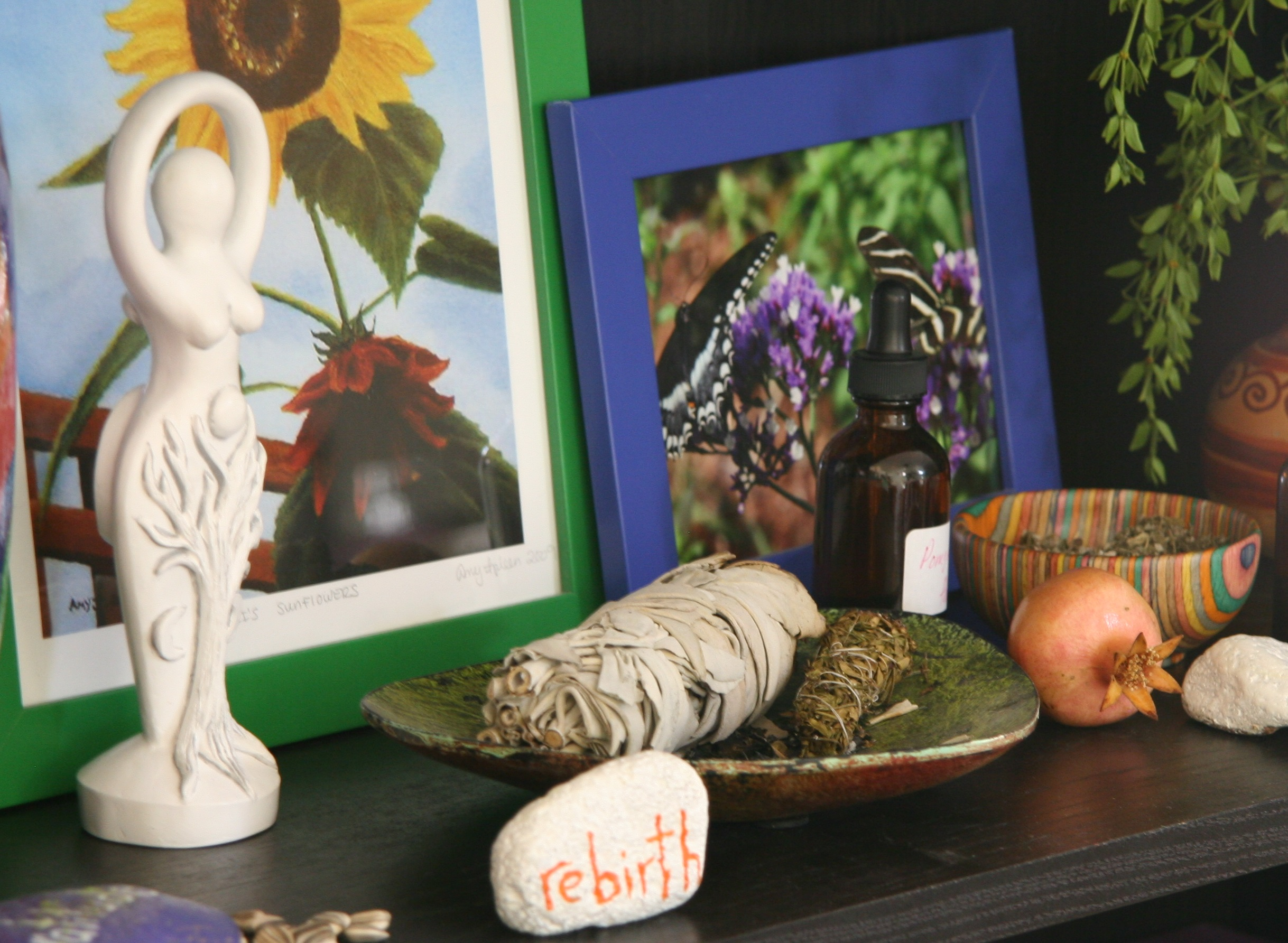 Herb altar - Creative Commons image by Latisha of Flickr.com