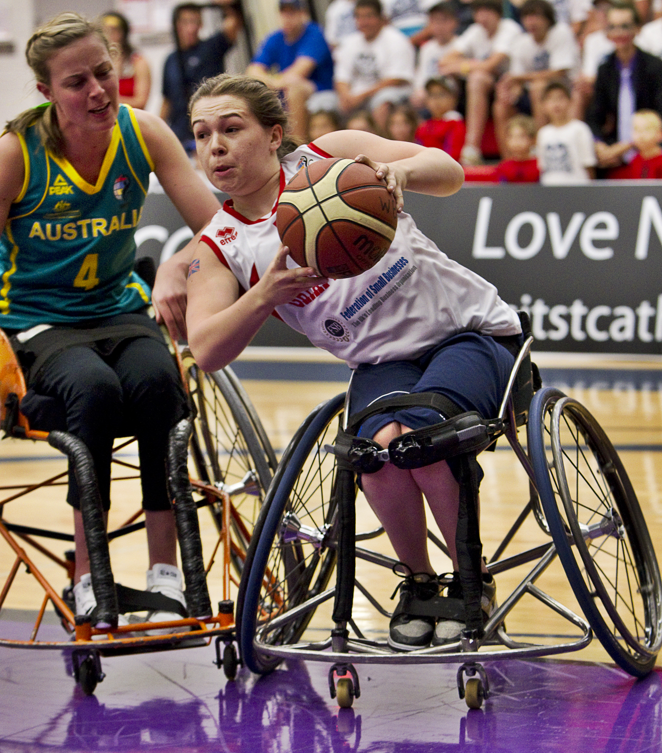 Creative Common image by Wheelchair Basketball Canada